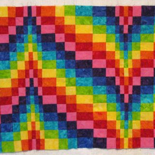Fat Quarter Bargello and a family visit
