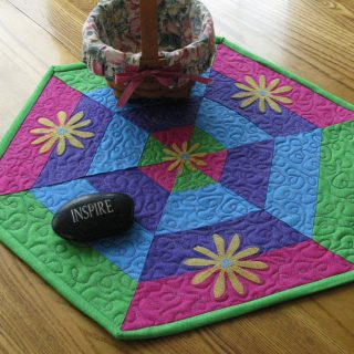 Fast and Easy Easter Table Topper Tutorial