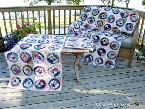 Bulls Eye Quilts in 2 sizes
