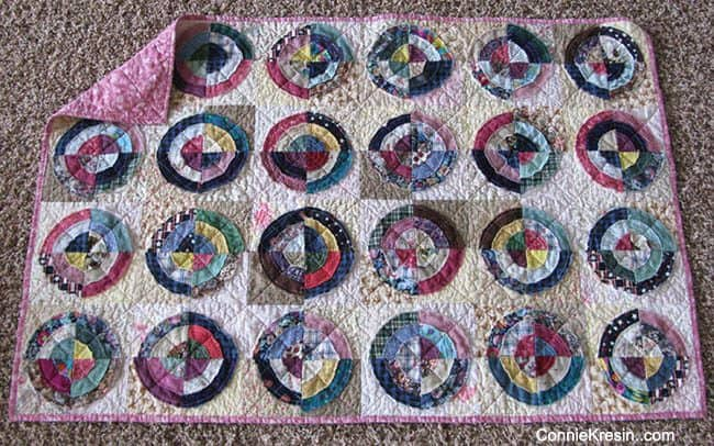 Bulls Eye Quilt Tutorial and Roundup