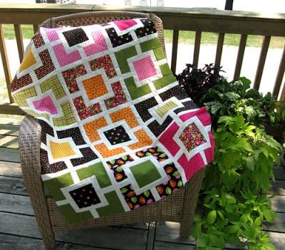 Garden Fence quilt