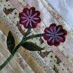 Strip Flowers Mosaic