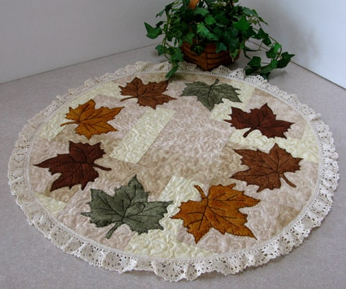 Maple Leaf Centerpiece Tutorial