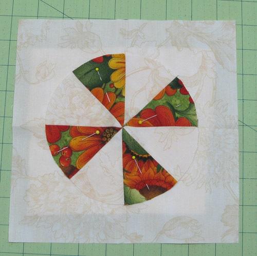 Fall tablerunner pinwheel - conniekresin.com
