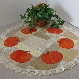 AccuQuilt Pumpkin Centerpiece Tutorial