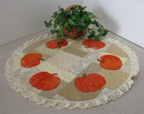 AccuQuilt Pumpkin Centerpiece