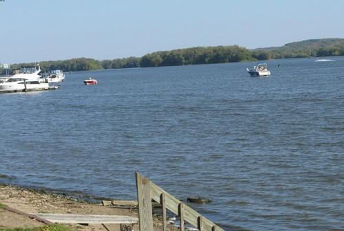 Mississippi River in October