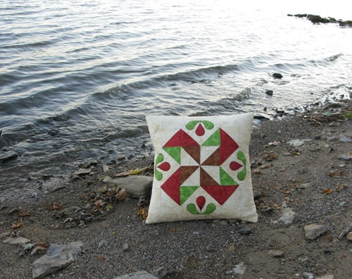 Easy Tutorial for a quilted pillow