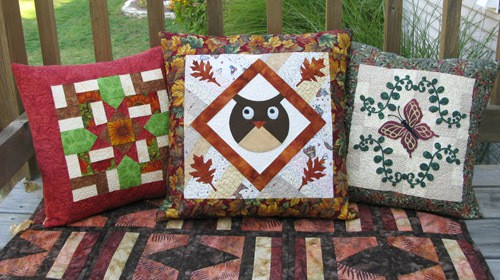 Appliqued Owl pillow tutorial