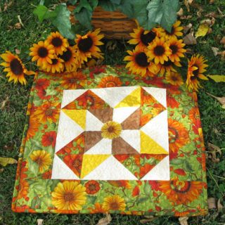 Table topper tutorial from one block