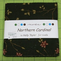 Northern Cardinal Lil Twister Quilt