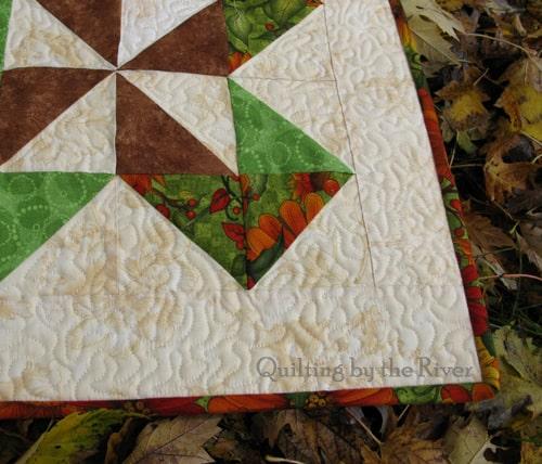 Sunflower Table Runner closeup - conniekresin.com