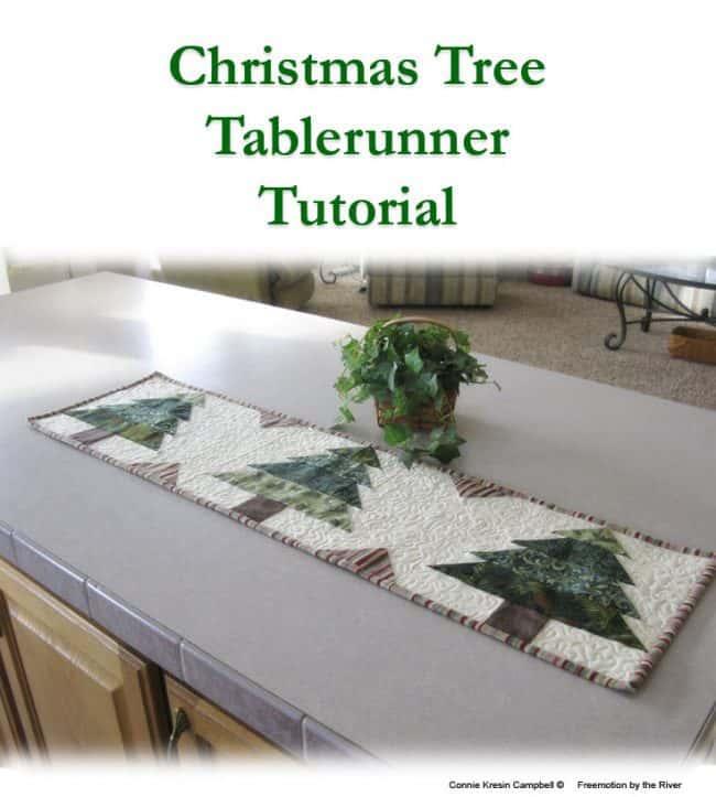 Christmas Tree Runner Tutorial