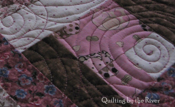 Temporary Quilt Room
