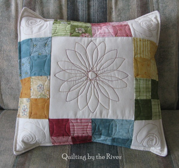 Garden Song pillow