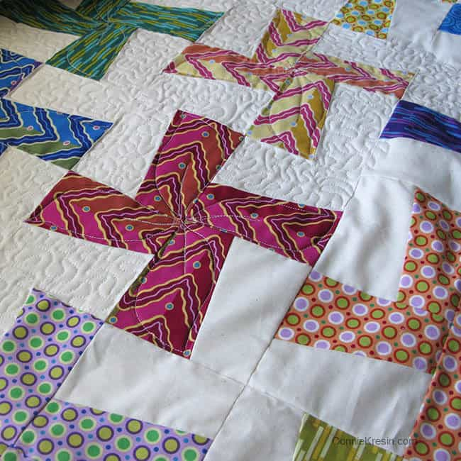 Quilting River Whirls