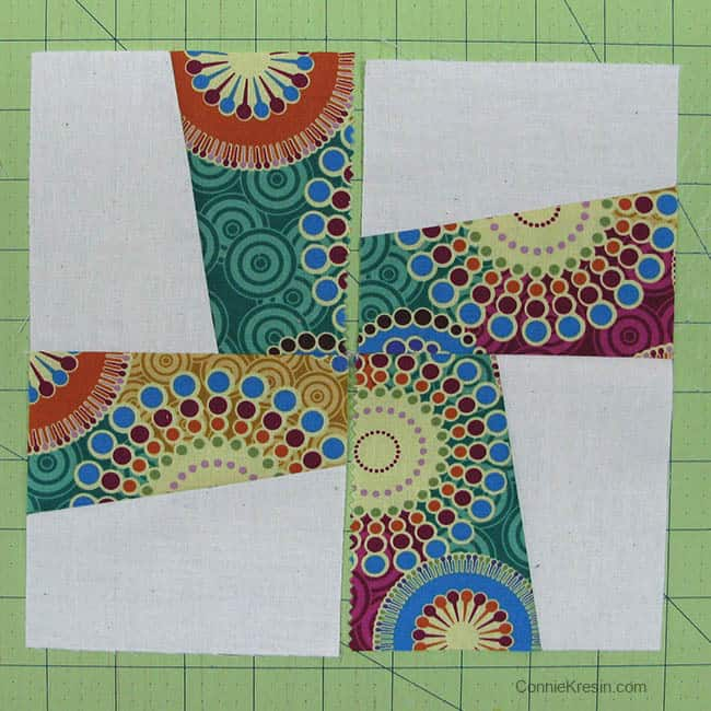 Tutorial Sew sections together
