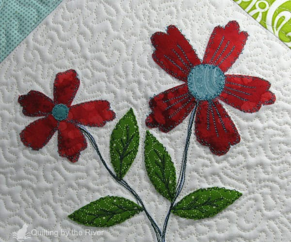 Ruby Floral Mini Tutorial
