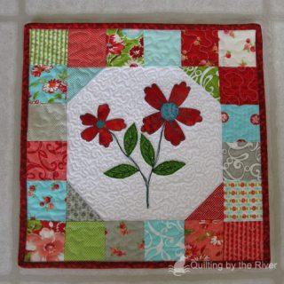 Ruby Floral Mini Tutorial