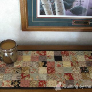 Fast and Easy Table Runner tutorial