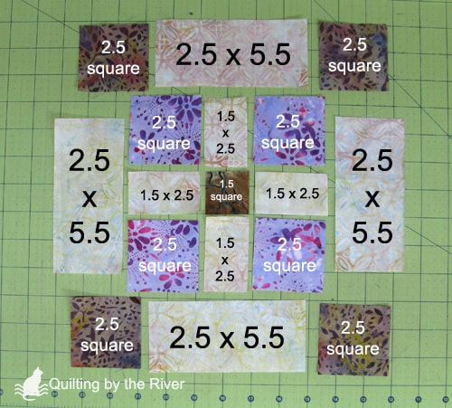 Batik quilt block tutorial