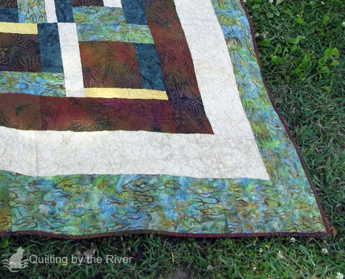 Mississippi River Mud Quilt