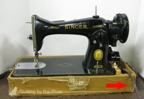15-91 Sewing Machine came in the mail
