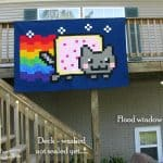 Nyan Cat Quilt for my grandson