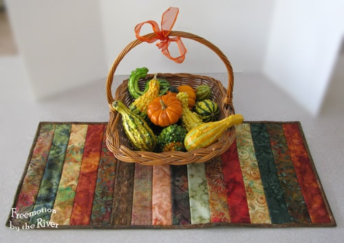 Batik Strip Table Runner