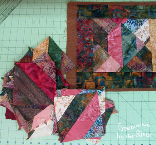 Batik Table Runner and other blocks