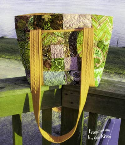 Zu Zu bag in yellows at Freemotion by the River