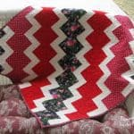 Red Wiggles Lap Quilt