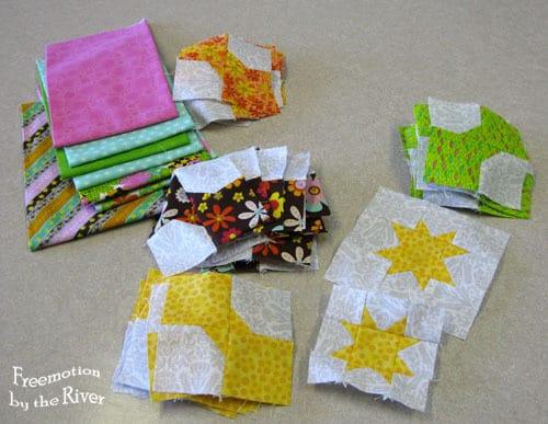 Bowtie and Crossroads Quilt Blocks