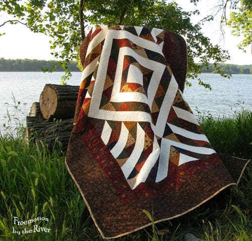 Sienna Arrows Quilt