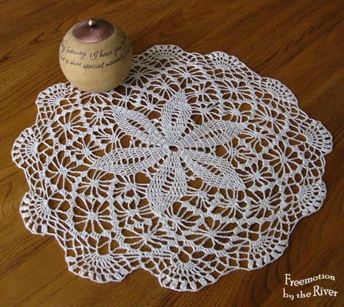 crochet doilie by Bobs mom