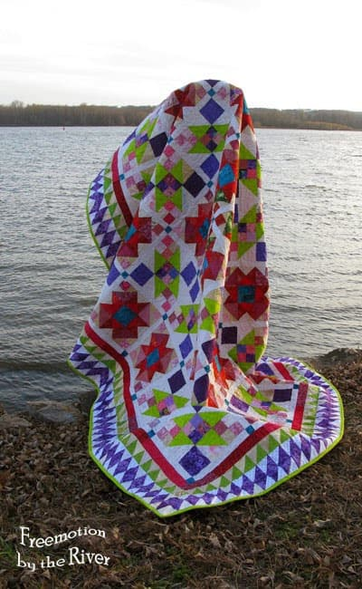 Lazy Sunday Quilt by the River • Freemotion by the River : lazy sunday quilt pattern - Adamdwight.com