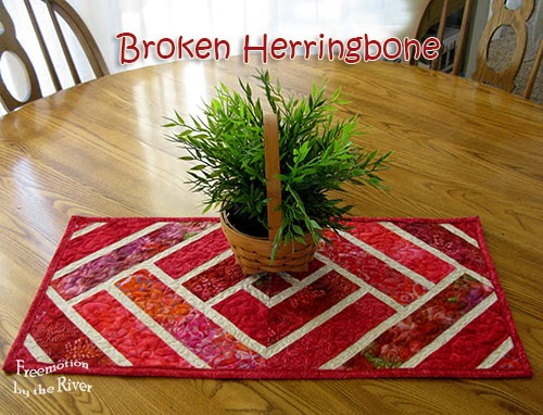 Broken Herringbone Tutorial