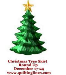 Christmas Tree skirt round up