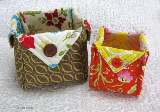 2 more fabric Baskets