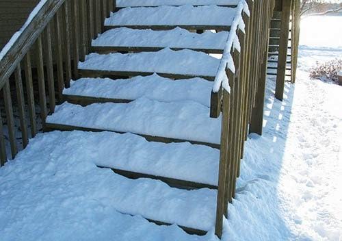 Batiks in the snow