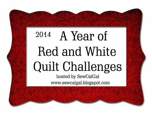 A Year of Red and White Quilt Challenges