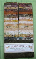 Island Batik Espresso Strips