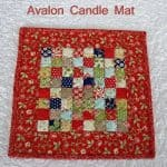 Avalon Candle Mat and Giveaway winner