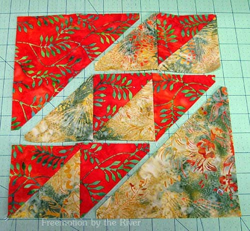 AccuQuilt Block Party and a block tutorial
