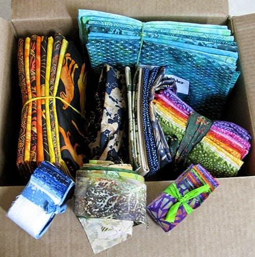 Island Batik Ambassador Box of fabrics
