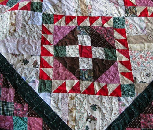 RRCB block and quilting