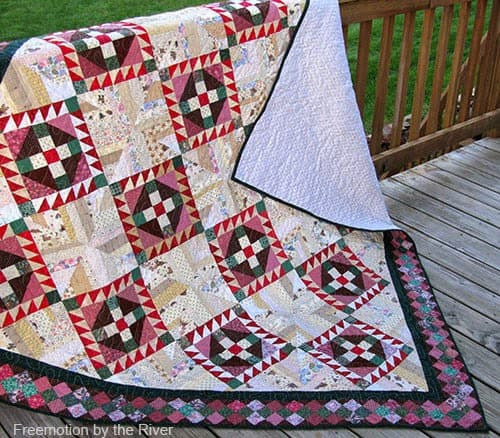 Roll Roll Cotton Boll Quilt