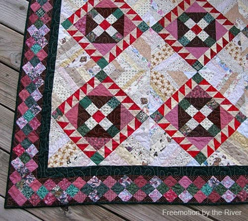 Border with lots of pieces