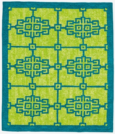 Chinese Screen Quilt
