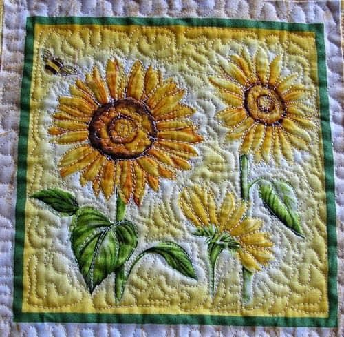 Flower Garden Quilt Tutorial